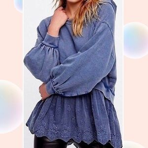 Free people over sized hoodies